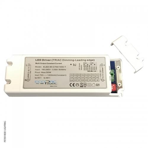 Ecopac Constant Current LED Driver 50 Watt