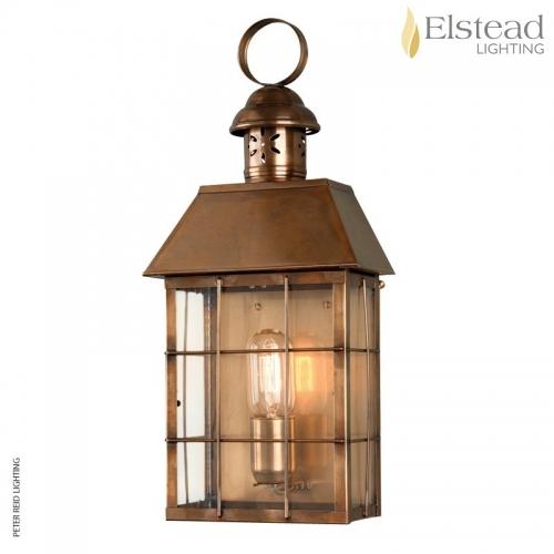 Hyde Park Brass Wall Lantern