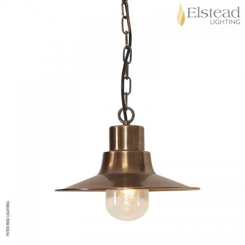 Sheldon Brass Chain Light