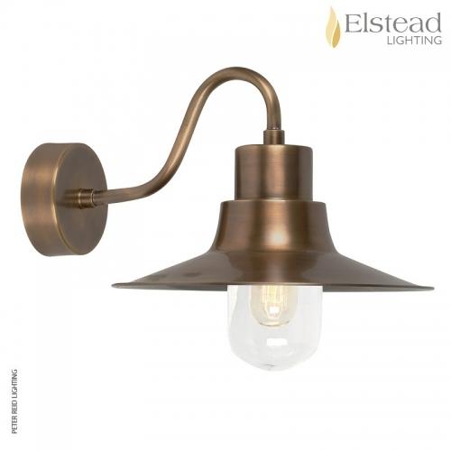 Sheldon Brass Wall Light