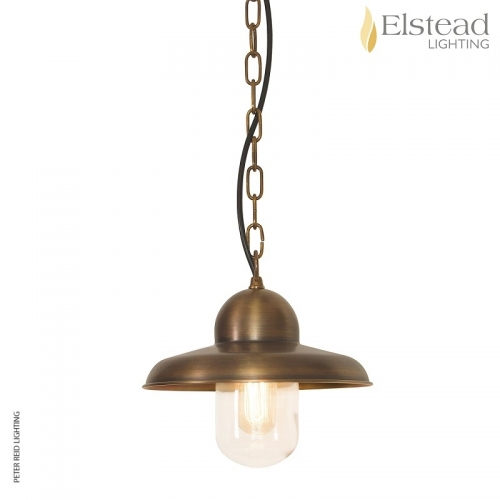 Somerton Brass Chain Light