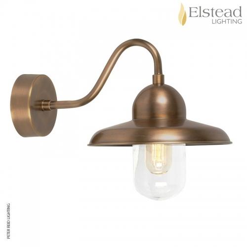 Somerton Brass Wall Light