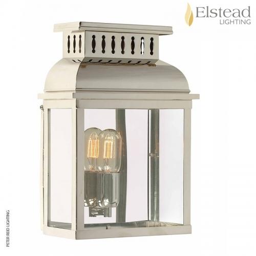 Westminster Abbey Polished Nickel Wall Lantern