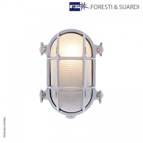 Oval Bulkhead Light 2036 Small E27 by Foresti & Suardi