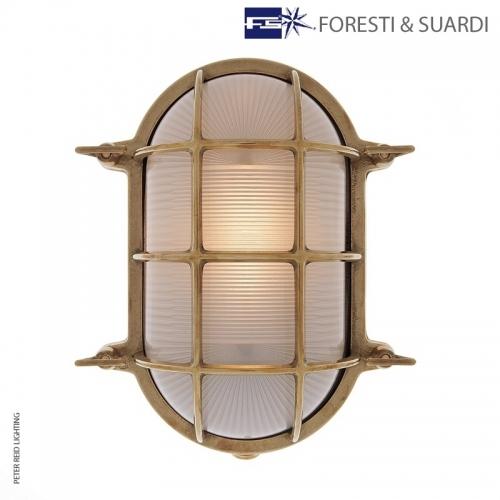Oval Bulkhead Light 2034 Extra Large by Foresti & Suardi