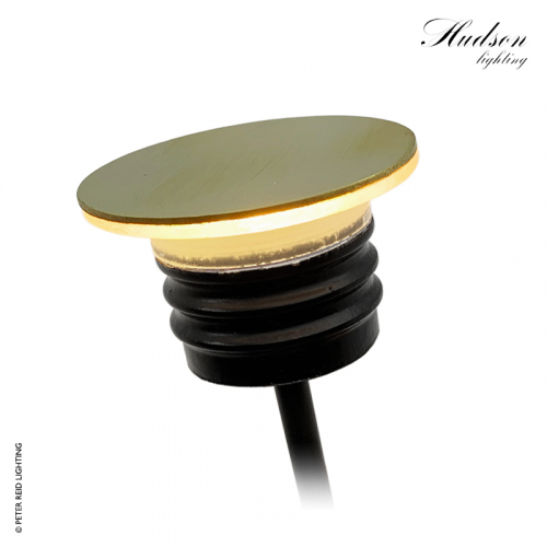 Hudson Halo Light Brass