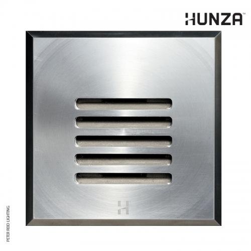 Hunza Step Light Louvre Square GU10