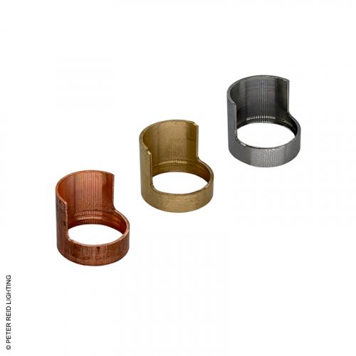 Hudson Glare Guard Brass, Copper & Stainless Steel