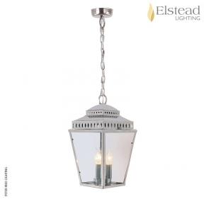Mansion House Polished Nickel Chain Lantern