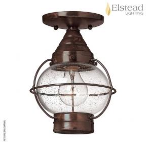 Cape Cod Small Flush/Chain Ceiling Lantern