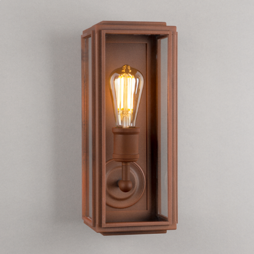 London Wall Light Corten Steel Slim