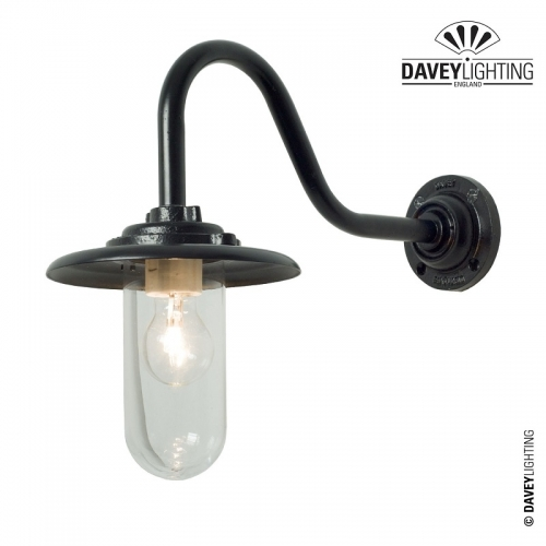 Exterior Bracket Light 7677 100W Black by Davey Lighting