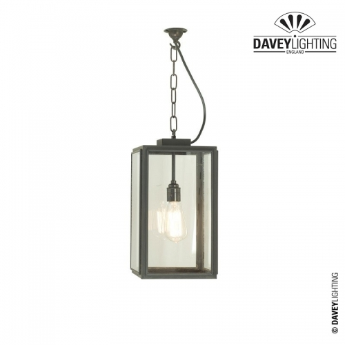 Exterior Square Pendant Small 7638/20 by Davey Lighting