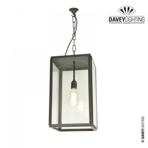 Exterior Square Pendant Medium 7638 by Davey Lighting