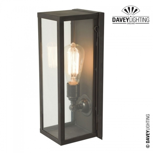 Box Wall Light Narrow Internally Glazed 7650 by Davey Lighting