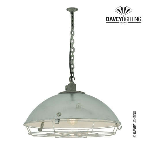 Cargo Cluster Light 7242 With Guard IP44 by Davey Lighting