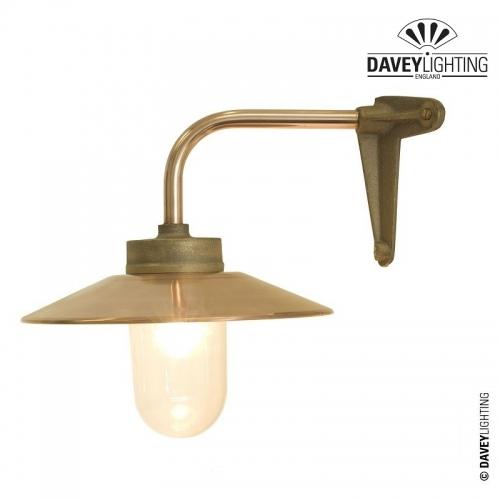 Exterior Bracket Light 7680 Corner Fork Gunmetal by Davey Lighting
