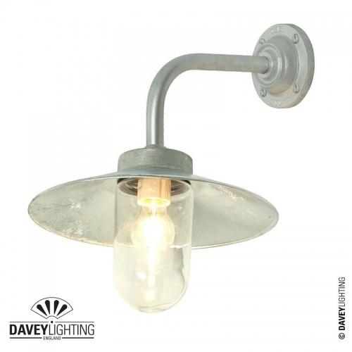Exterior Bracket Light 7680 Galvanized by Davey Lighting