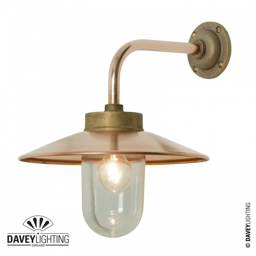 Exterior Bracket Light 7680 Gunmetal by Davey Lighting