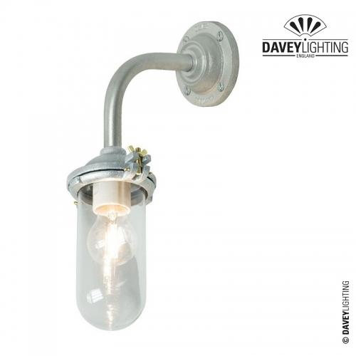 Exterior Bracket Light 7684 Galvanized by Davey Lighting