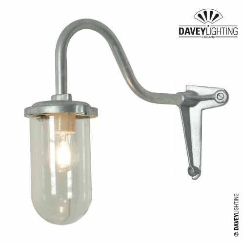 Exterior Bracket Light 7672 100W Corner Fork by Davey Lighting