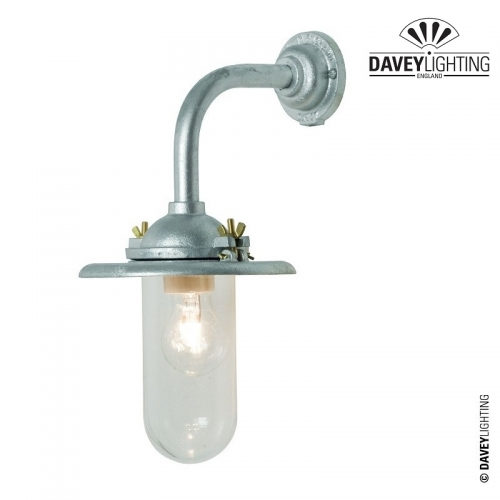 Exterior Bracket Light 7685 Galvanized by Davey Lighting