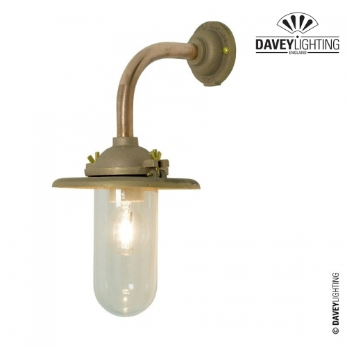 Exterior Bracket Light 7685 Sandblasted Bronze by Davey Lighting