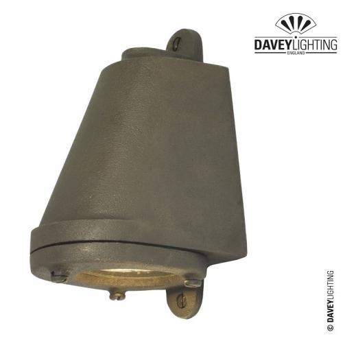 Mast Light 0749 LED Weathered Sandblasted Bronze by Davey Lighting