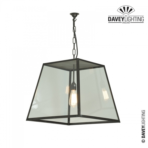 Exterior Large Quad Pendant 7635/L by Davey Lighting