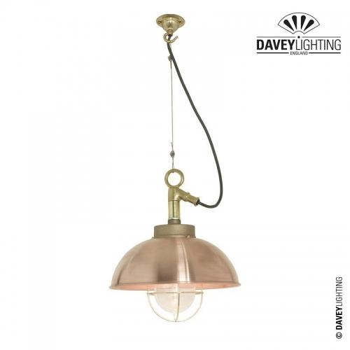 Shipyard Pendant 7222 Copper by Davey Lighting