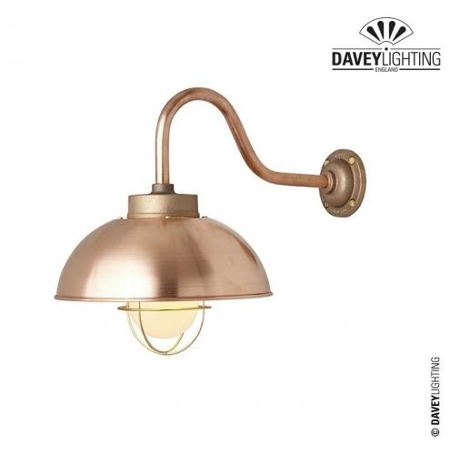 Shipyard Wall Light 7222 Copper by Davey Lighting