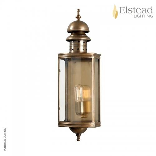 Downing Street Brass Wall Lantern