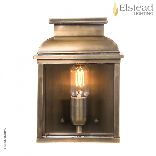 Old Bailey Brass Wall Lantern