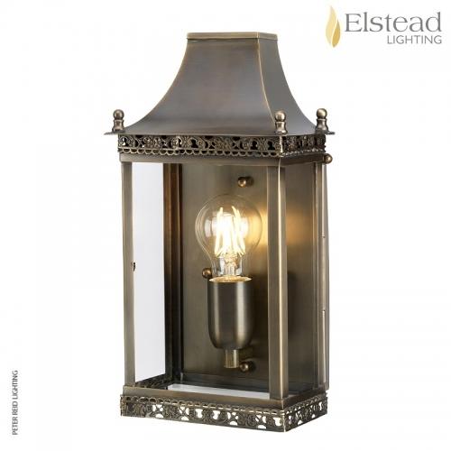 Regents Park Brass Wall Lantern