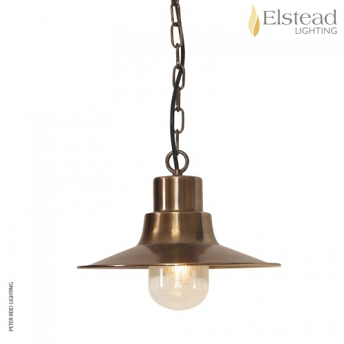 Sheldon Brass Chain Light