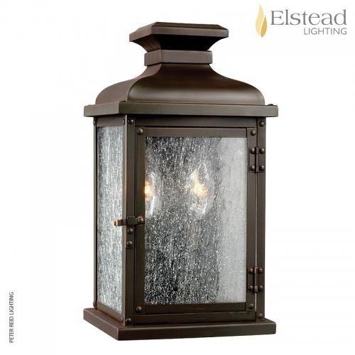 Pediment Small Wall Lantern