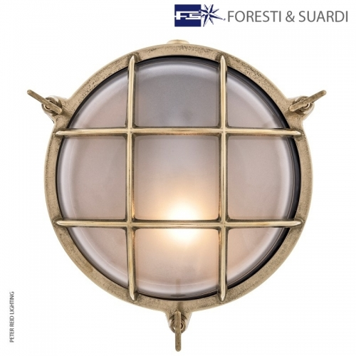 Round Bulkhead Light 2027 Large by Foresti & Suardi
