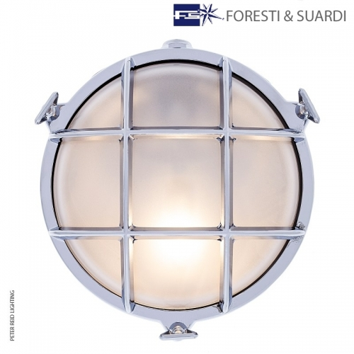 Round Bulkhead Light 2028 Medium by Foresti & Suardi