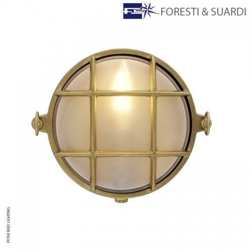 Round Bulkhead Light 2028B Small by Foresti & Suardi