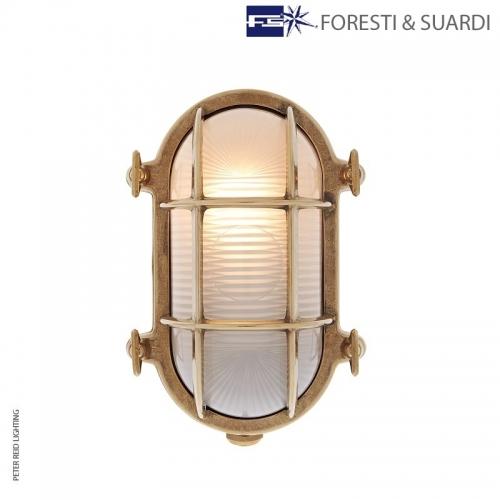 Oval Bulkhead Light 2035B Medium by Foresti & Suardi