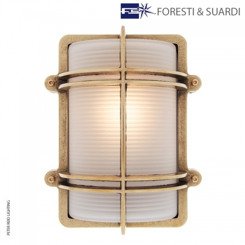 Rectangular Bulkhead Light 2373 by Foresti & Suardi