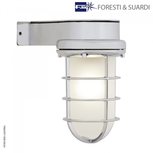 Side Arm Bulkhead Light 2430A by Foresti & Suardi