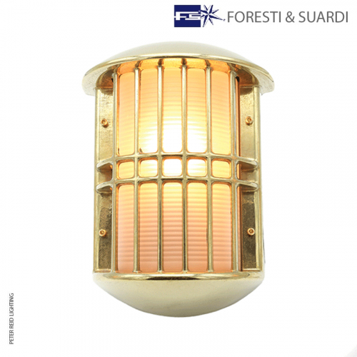 Large Wall Grille Lamp 2376 by Foresti & Suardi