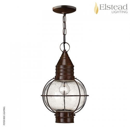 Cape Cod Large Flush/Chain Ceiling Lantern