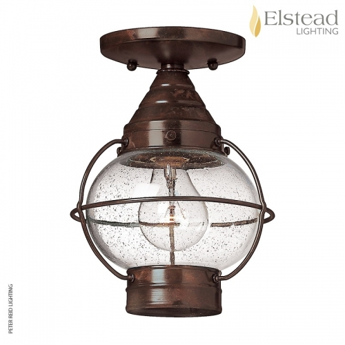 Cape Cod Small Flush/Chain Ceiling Lantern