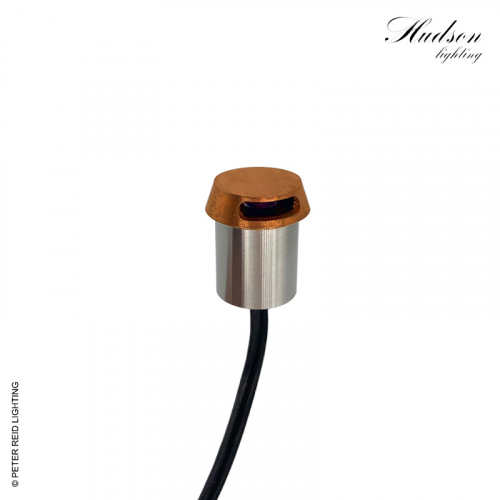 Hudson Path Marker Light Solid Copper