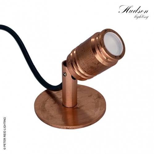 Hudson Water Feature Light Solid Copper
