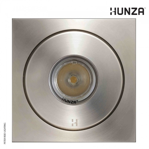 Hunza Flush Floor Light Square PURE LED