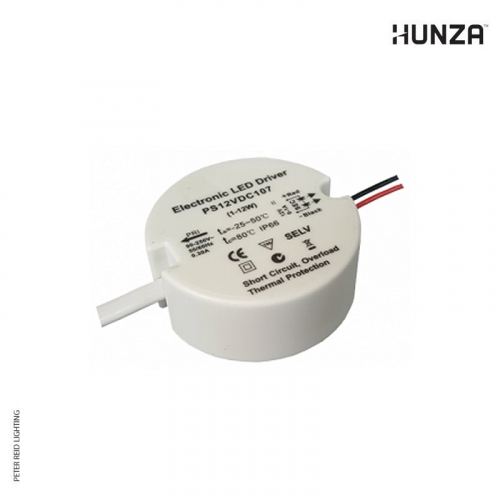 Hunza LED Driver PS12VDC107 Replacement for Retro Transformer