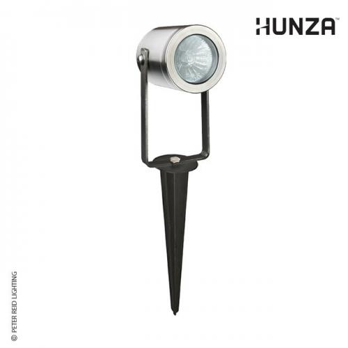 Hunza Pond Spike Spot Adjustable 12v Halogen/LED